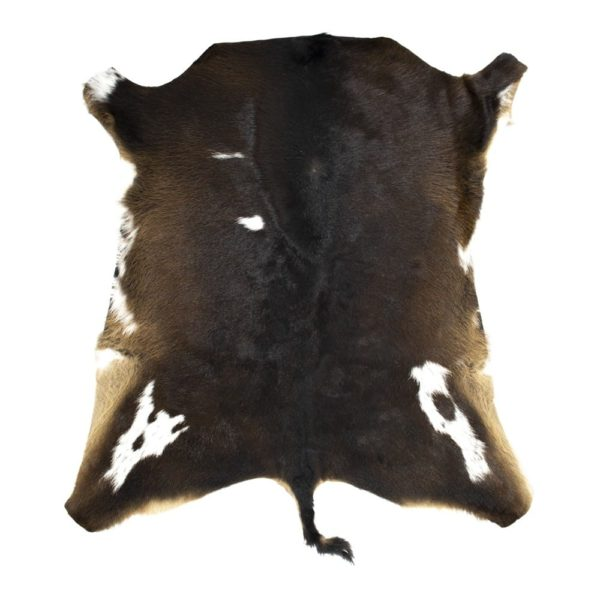 Fur Calf  Black   Leather 90x80x1cm Mars & More