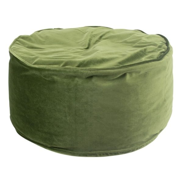Cushion   Green   Velvet 60x60x30cm Mars & More