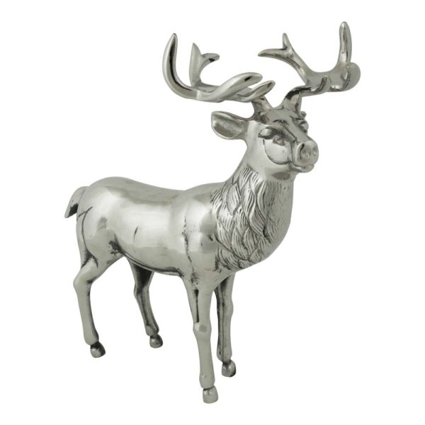 Stand Deer  Colored   Aluminium 31x16x37 Mars & More