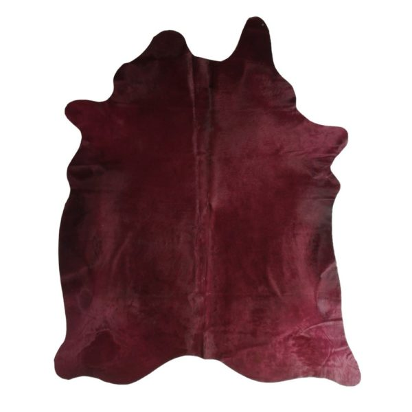 Hide Cow  Bordeaux   Natural 150x250x0