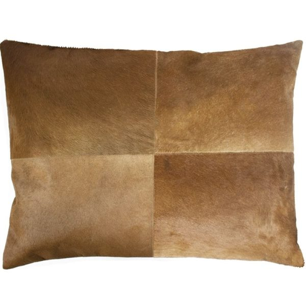 Cushion Cow  Brown   Cotton 45x60x15cm Mars & More