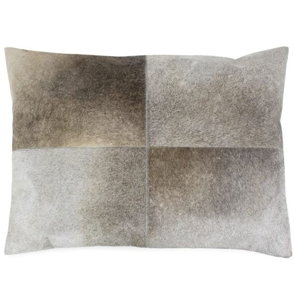 Cushion Cow  Gray   Cotton 45x60x15cm Mars & More