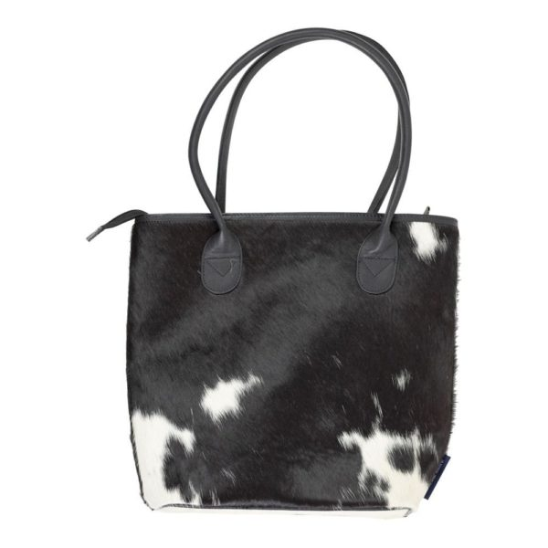 Bag Cow  Black & White   Cotton 33x11x30cm Mars & More