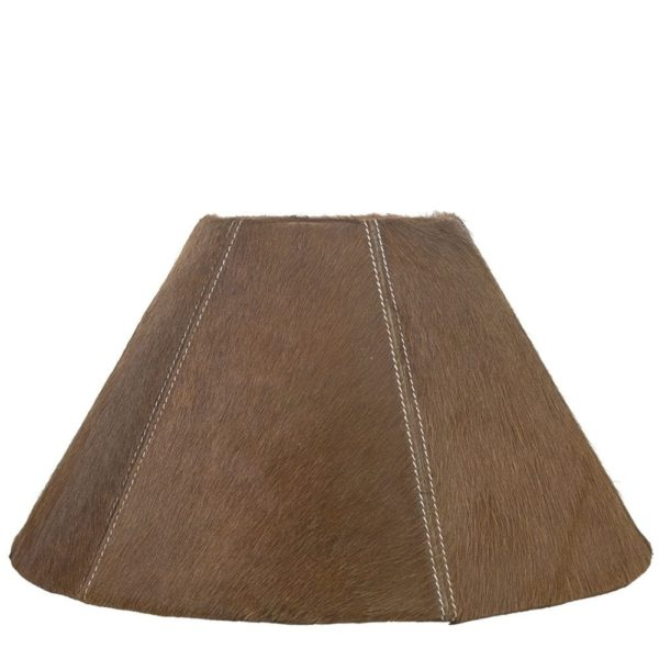 Lampshade Cow  Brown   Natural 39x16x23cm Mars & More
