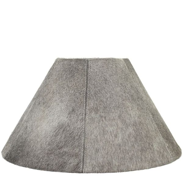 Lampshade Cow  Gray   Natural 39x16x23cm Mars & More