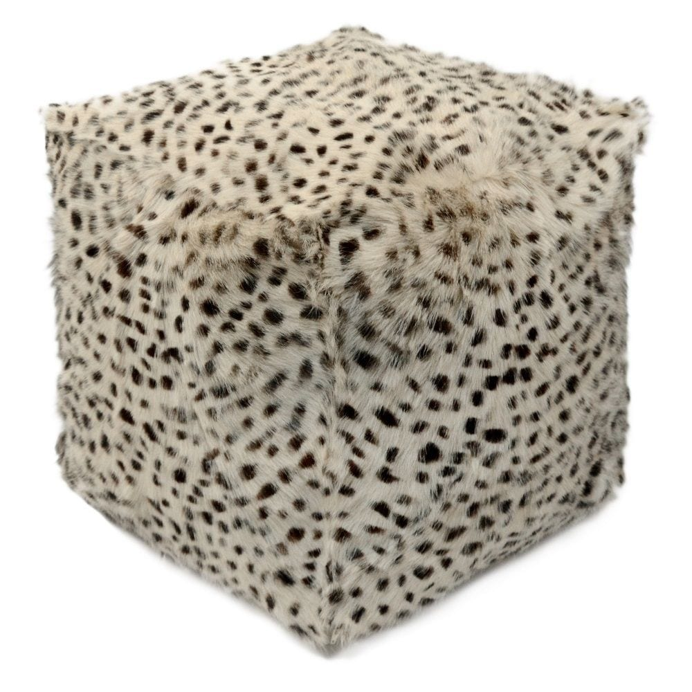 Pouffe Goat  Colored   Polyester 45x45x45cm Mars & More