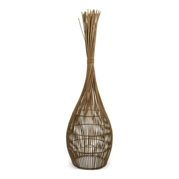 Lamp   Colored   Rattan 30x30x110xm Mars & More