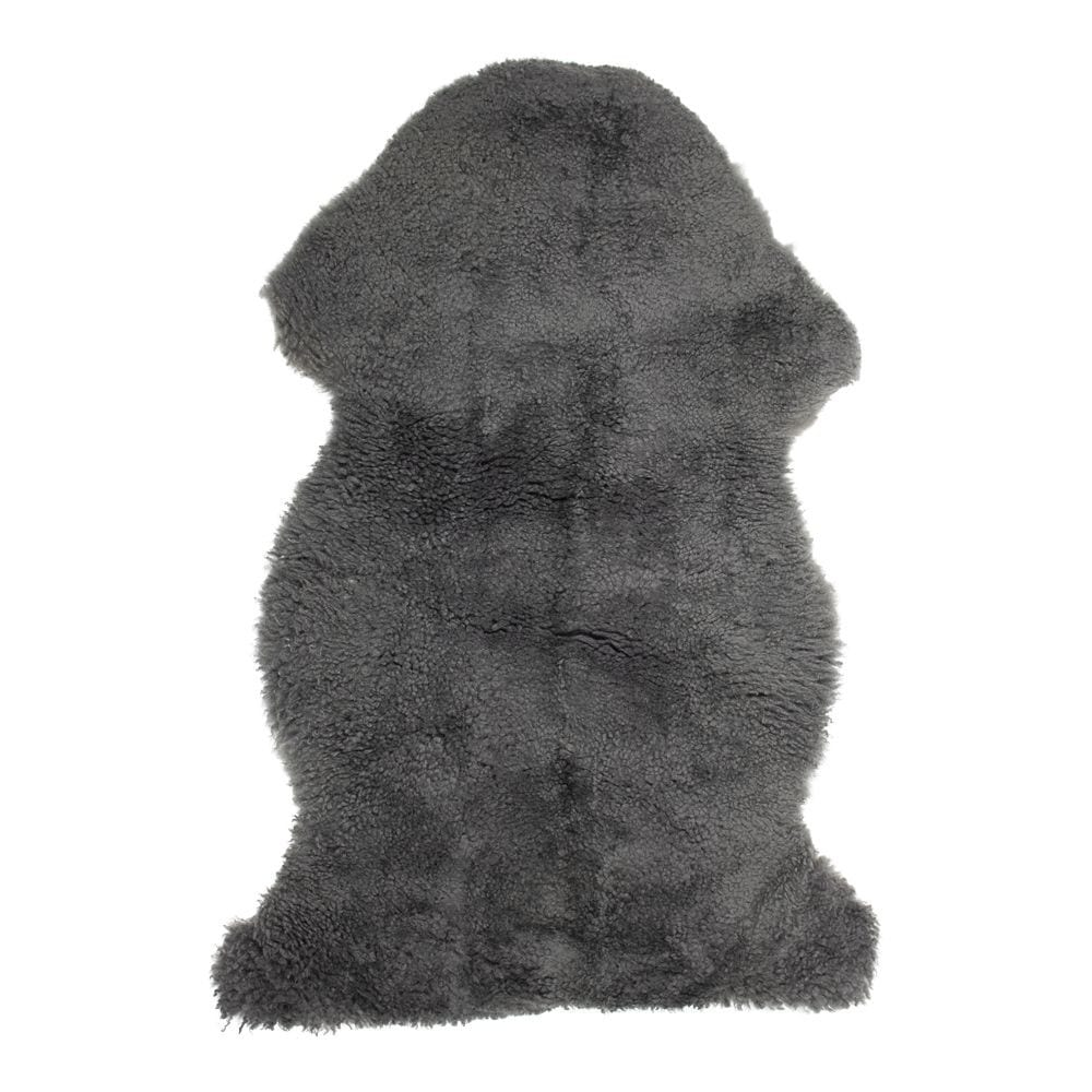 Fur Sheep  Gray   Natural 60x100x5cm Mars & More