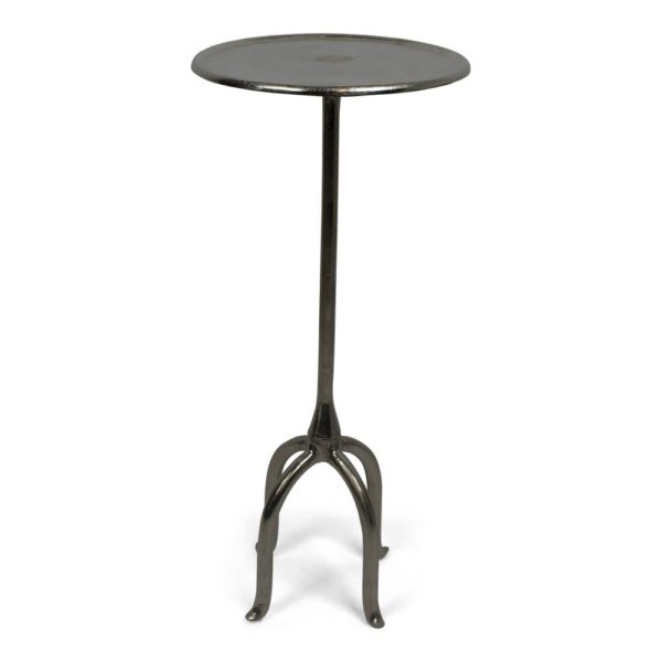 Sidetable   Colored  Round Aluminium 46x46x75cm Mars & More