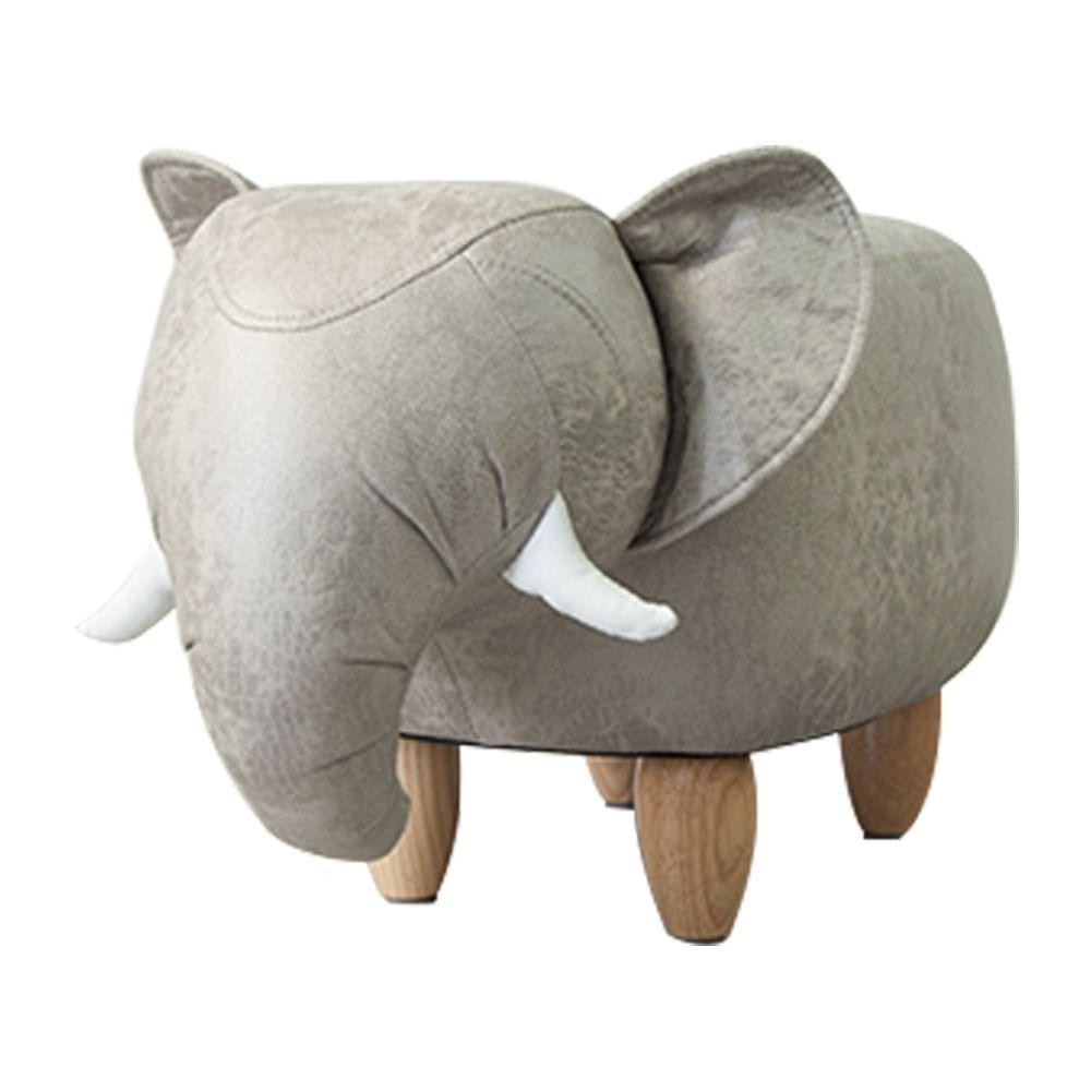 Stool   Colored   Leather 63x32x36cm Mars & More