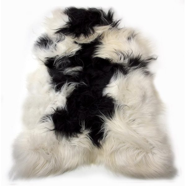 Fur  Iceland Colored   Leather / fur 115x75x5cm Mars & More