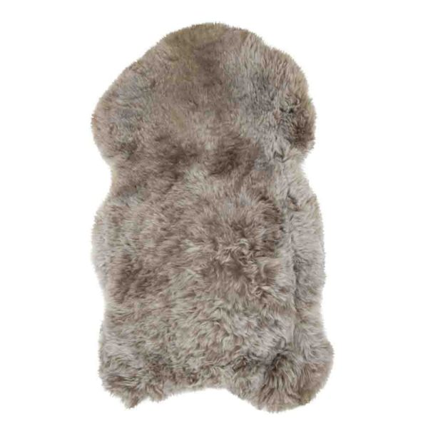 Fur  Iceland Shaved Rust   Leather / fur 115x75x5cm Mars & More