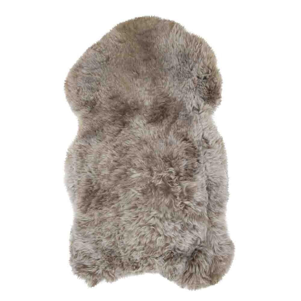 Fur Sheep Iceland Shaved Rust   Leather / fur 105x60x5cm Mars & More