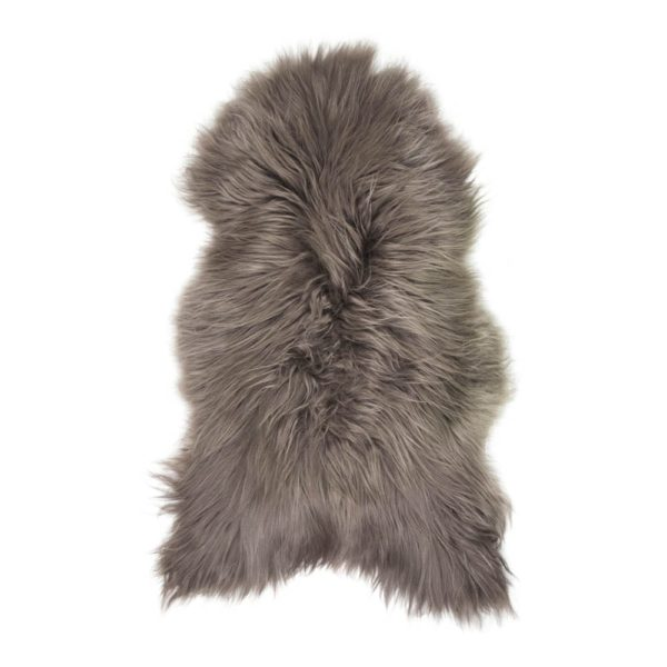 Fur  Iceland Brown   Leather / fur 115x75x5cm Mars & More