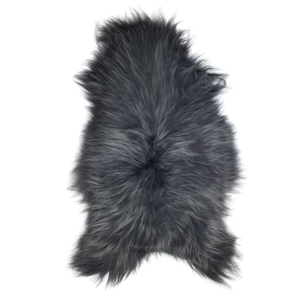 Fur  Iceland Steel    115x75x5cm Mars & More