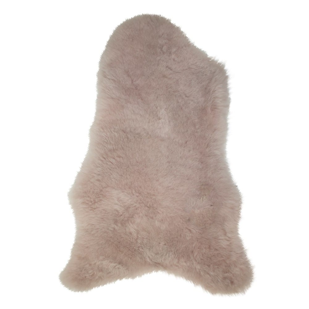 Fur Sheep Iceland Shaved Pink   Leather / fur 105x60x5cm Mars & More