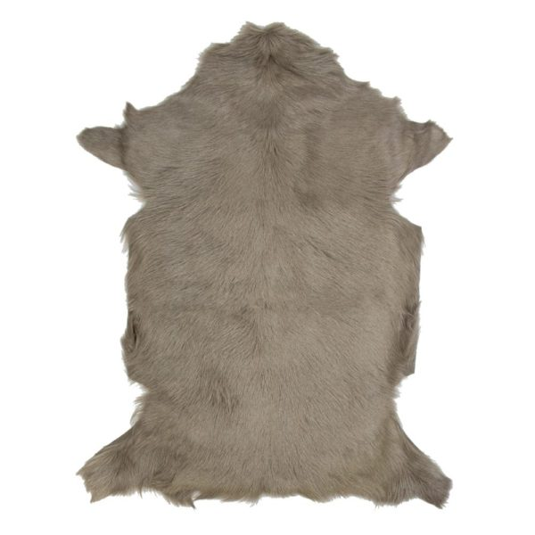 Fur Goat  Beige   Leather / fur 60x90x2cm Mars & More