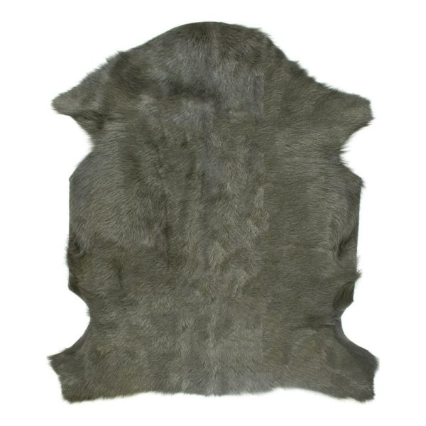 Fur Goat  Green   Leather 60x90x2cm Mars & More