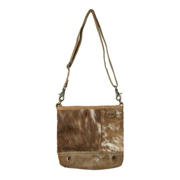 Bag Cow  Brown   Natural 25x5x24cm Mars & More