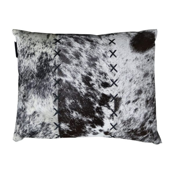 Cushion Cow  Black   Cotton 35x45x15cm Mars & More