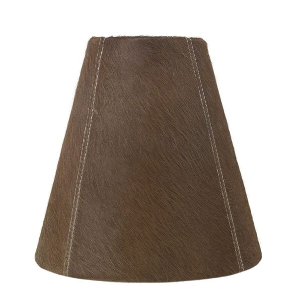 Lampshade Cow  Brown   Natural 26x13x25cm Mars & More