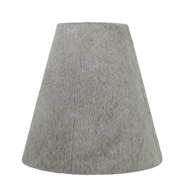 Lampshade Cow  Gray   Natural 26x13x25cm Mars & More