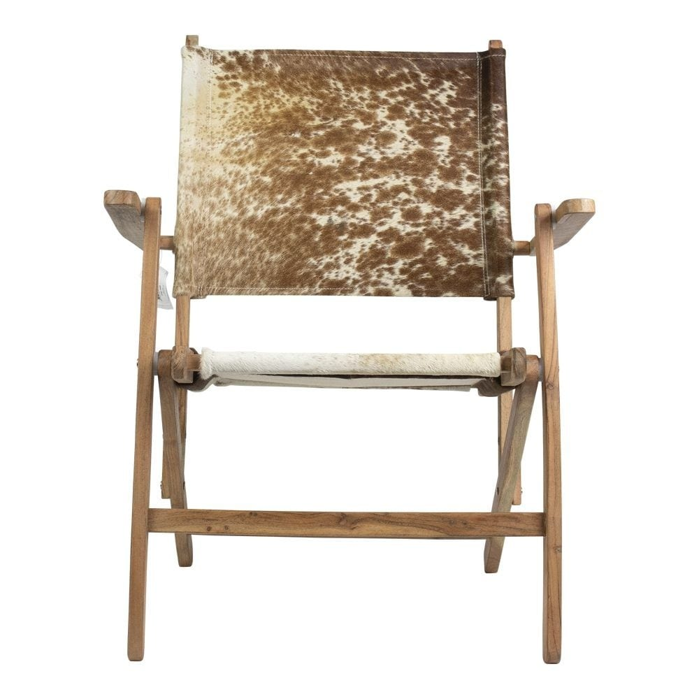 Chair Cow  Colored   Leather 61x61x76cm Mars & More